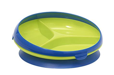 Diskon The Years Inside Scoop Suction Section Plate Blue the years inside scoop suction sectioned plate blue green