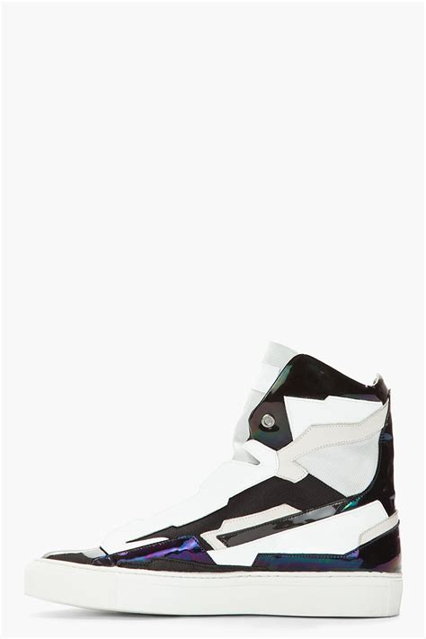 raf simons holographic space sneakers drblogspot raf simons summer 2013 sneakers collection