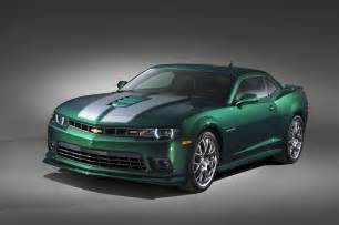 new green car chevrolet previews special camaro ss for sema 2014 gtspirit
