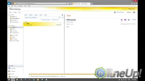 using outlook web access owa to access outlook from home