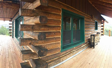 log home restoration colorado westliffe colorado log