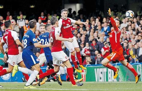 Arsenal Tie Cn gunners hold blues to 0 0 tie china org cn