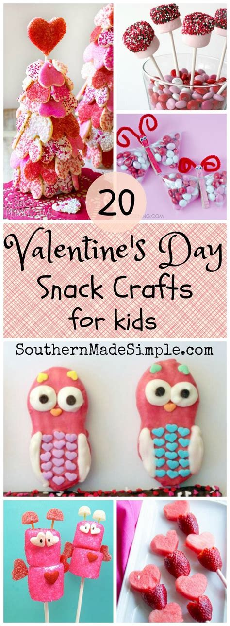 valentines treats for toddlers s day snack crafts for snacks craft and
