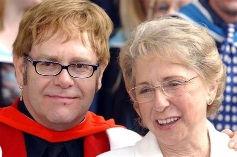 elton john parents elton john reconciles with his mother after suffering
