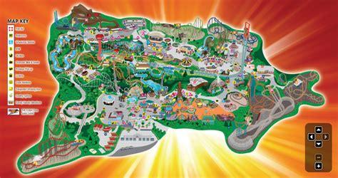 six flags magic mountain map file six flags magic mountain map png coasterpedia