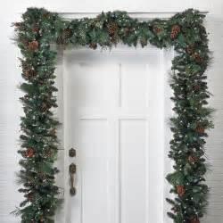 Lit christmas garland christmas decor traditional wreaths and garlands