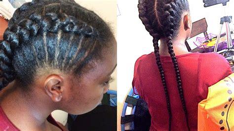 natural hair braids  kids braiding  beginnerssupa natural youtube