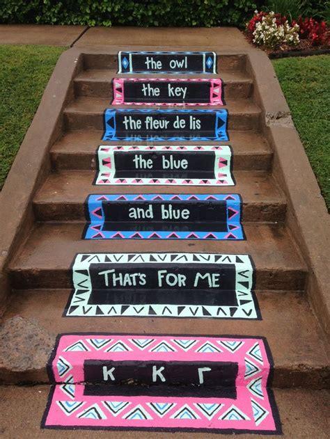 chalk paint gamma the step step up and kappa kappa gamma on