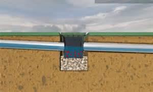catch basin in backyard yard drainage michigan higher ground landscaping