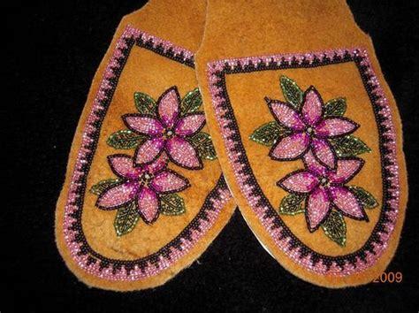 beaded moccasin tops s moccasin slipper tops on moosehide alaska