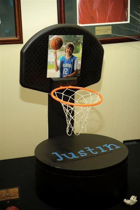 themed gift box ideas basketball themed centerpieces basketball theme gift