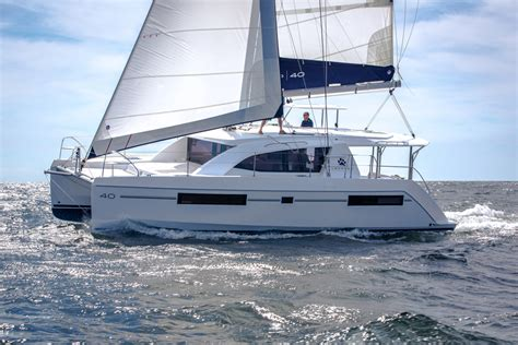 charter boat hits sailboat leopard 40 spacious sailing catamaran style boats