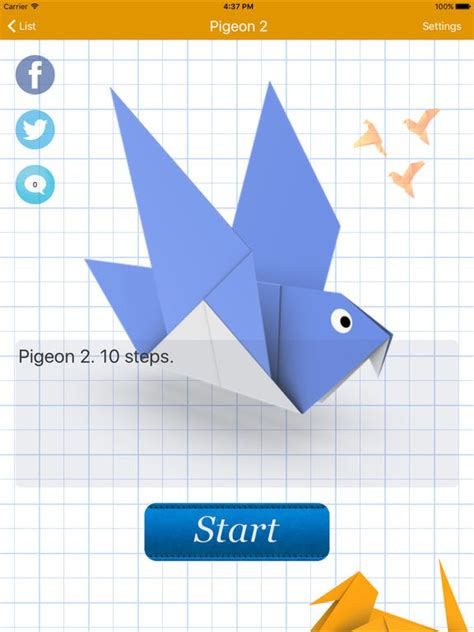 Origami Apps - how to make origami screenshot