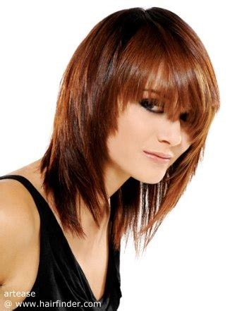 how to layer thick blunt hair into layers difference between a beveled and a layered hair cut