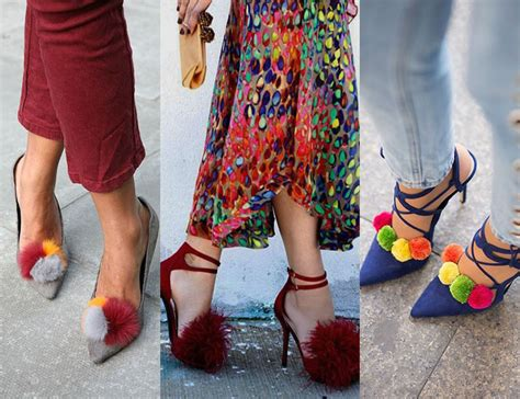 Belivin Pom Pom Bulu Sandal til lebih keren dengan sepatu casual kekinian bsim