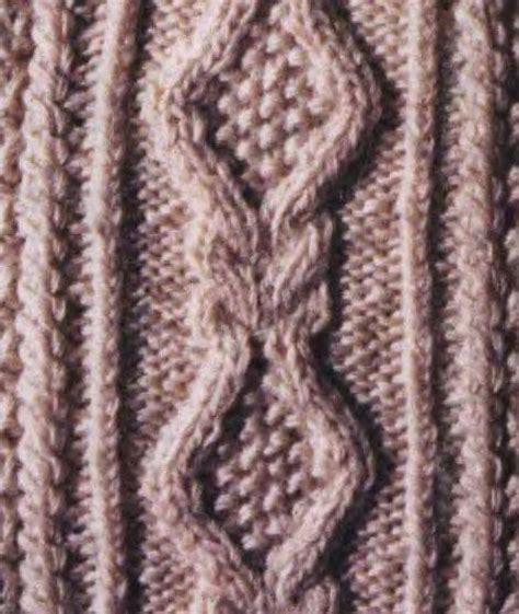 diamond pattern in knitting aran cable knitting stitch diamond shape with moss stitch