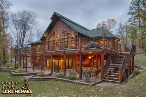 golden eagle log homes inc