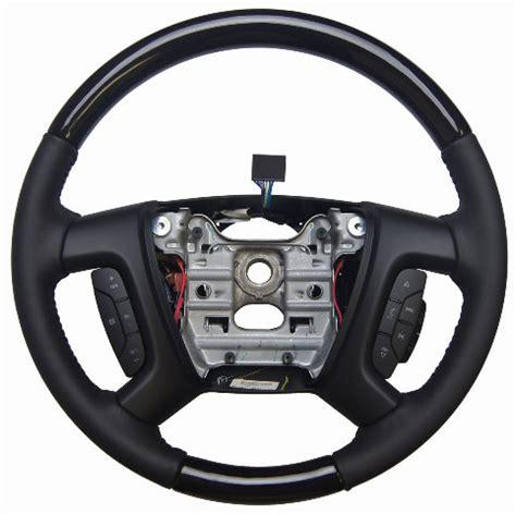 2013 2014 enclave acadia traverse steering wheel ebony w