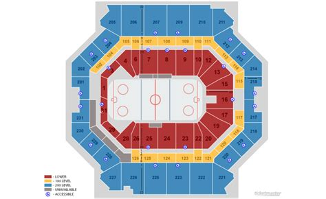 barclays center hockey seating seating charts barclays center