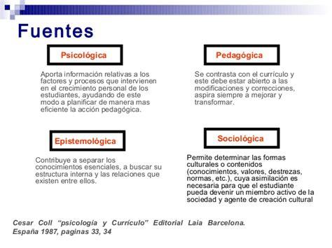 Modelo Curricular De Cesar Coll Marco Te 243 Para El Dise 241 O Curricular