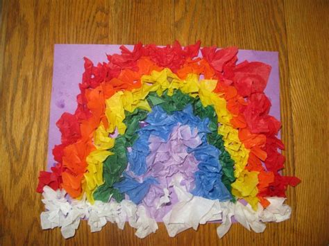 Arts And Crafts With Tissue Paper - tissue paper crafts