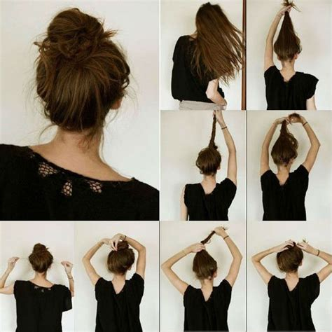 easy to make hairstyles for thin hair how to add hair volume for thin hair making ideal messy