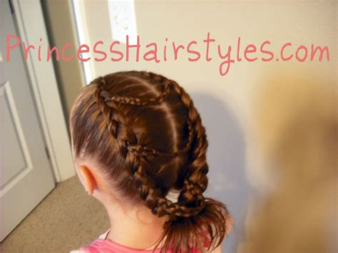 braiding styles that do not require a lot of preparation time fancy princess braids hairstyles for girls princess