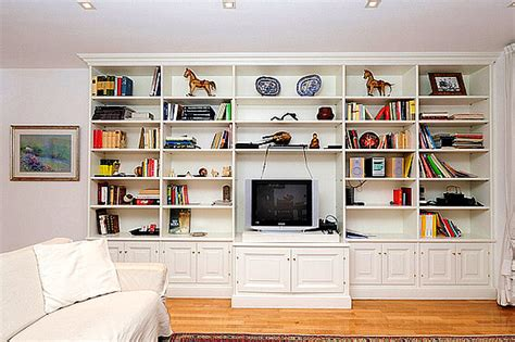 Tv Book Shelf by Diy Tv Bookcases Plans Free