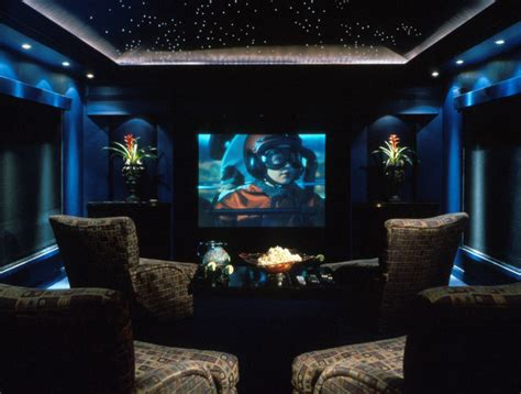 home theater modern home theater orlando by the