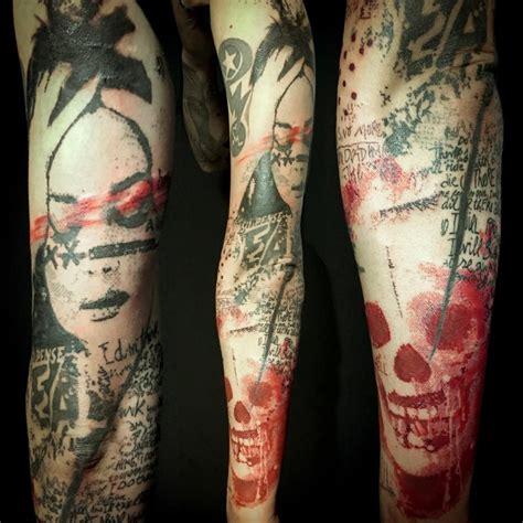 living dead tattoo living dead by paul talbot tattoonow