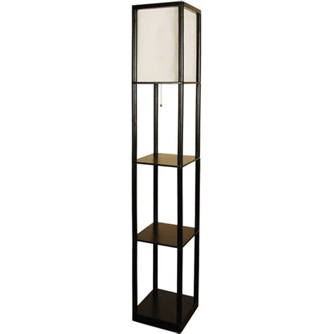 mainstays shelf floor l with wood shelves walmart
