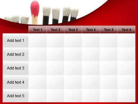 Safety Match Powerpoint Template Backgrounds 08039 Matching Powerpoint Template