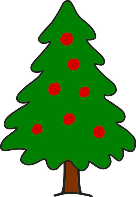 simple but beautiful christmas tree pictures clipart simple tree