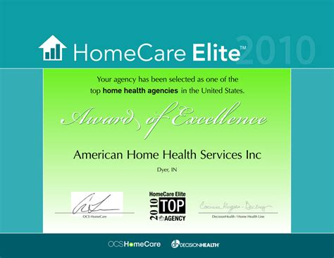 american home health services inc home health care