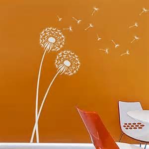 dandelion stencil beautiful stencils walls crafts fabric