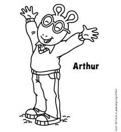 arthur coloring pages coloring page arthur birthday pbs parents pbs