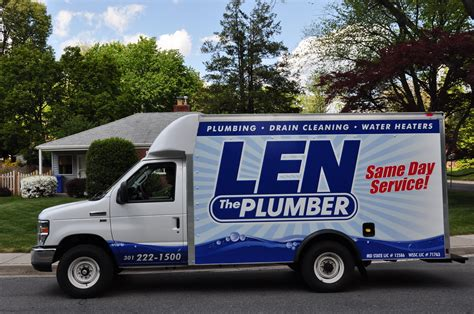 Plumber Near Me Open Now Len The Plumber Plumber Baltimore Md 21230