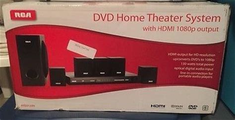 rca rtd325w dvd home theater system with hdmi 1080p