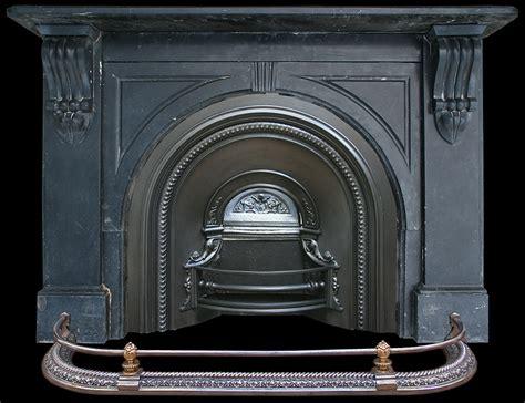 Black Marble Fireplace Surround Antique Black Marble Surround