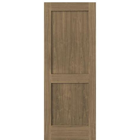 Interior Walnut Doors Escon Doors Model W6002p 2 Panel American Walnut Shaker Style Interior Door At Doors4home