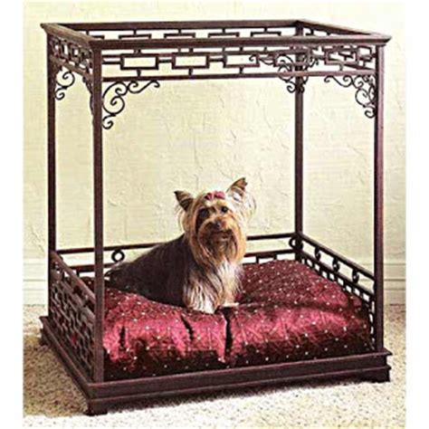 dog bed with canopy dee o gee asian inspired canopy dog bed