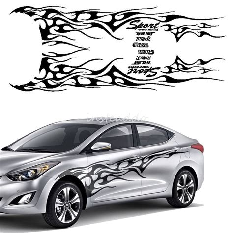 Cars Vinyl Decals by 1set Blackcar Truck Decal Vinyl Totem Graphics Side
