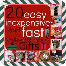 20 easy inexpensive and fast neighbor christmas gifts