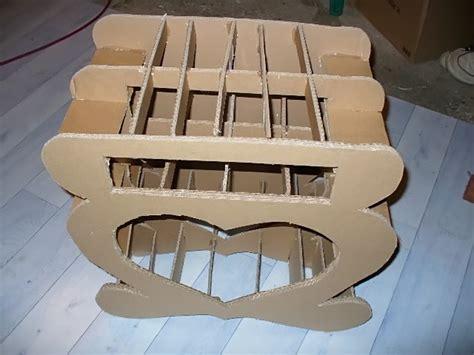 meuble en technique table de lit