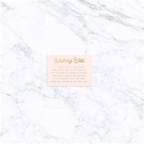 Wedding Card Exles by Wedding Wishing Well Wording Exles 100 Images Simple