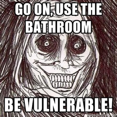Horrifying House Guest Meme - horrifying house guest shadowlurker memes