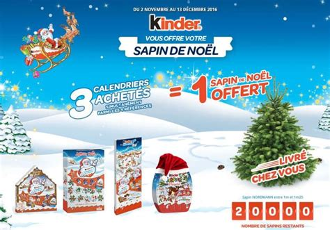 Calendrier Kinder Noel Kinder Sapin No 235 L Offert Pour 3 Calendriers Achet 233 S