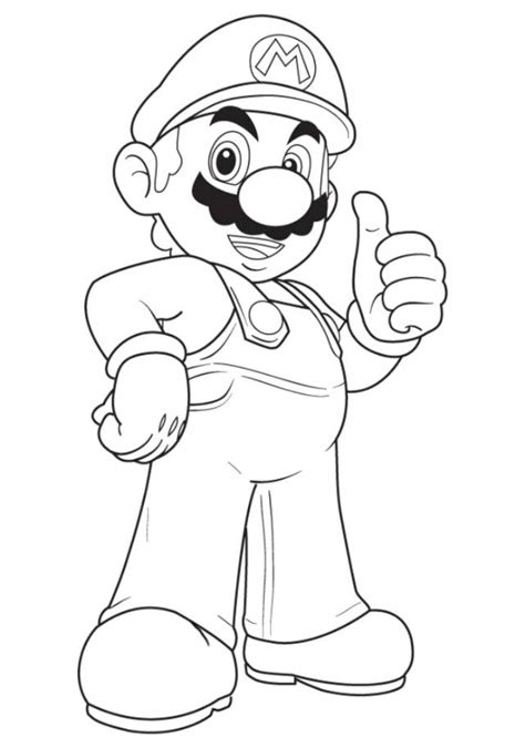 Mario Party Coloring Pages   Coloring Home