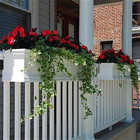 Deck Railing Flower Planters by This Look Flower Boxes That Can Be Attached To