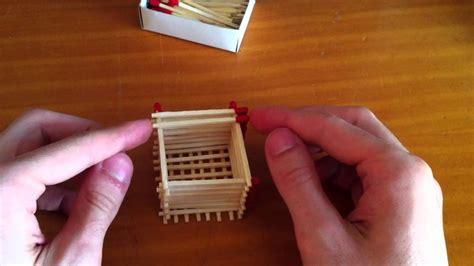 como hacer un barco griego cubo hecho de f 243 sforos youtube